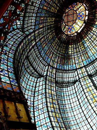 Parisian stained glass