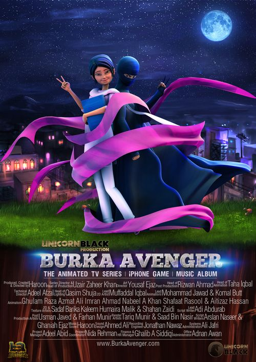 Burka Avenger poster