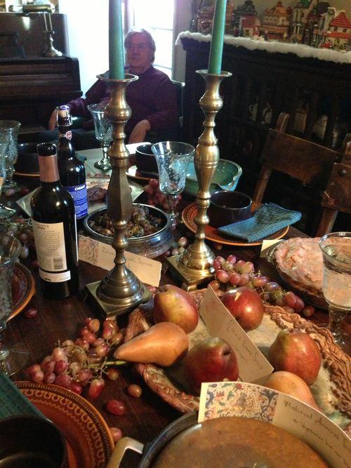 Paw at Medieval Dinner