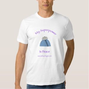 Zazzle purple cat mens T 1 copy