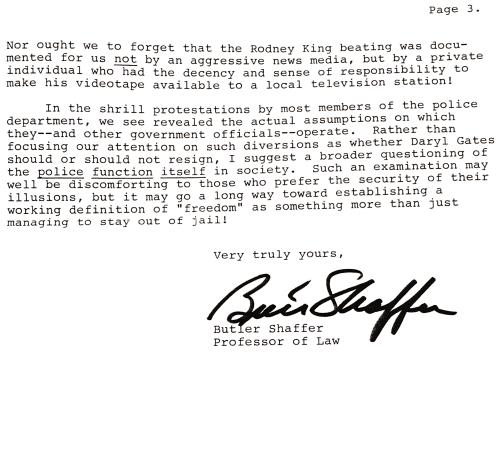 Rodney King letter p3