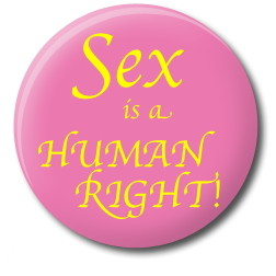 Sex is a human right 1