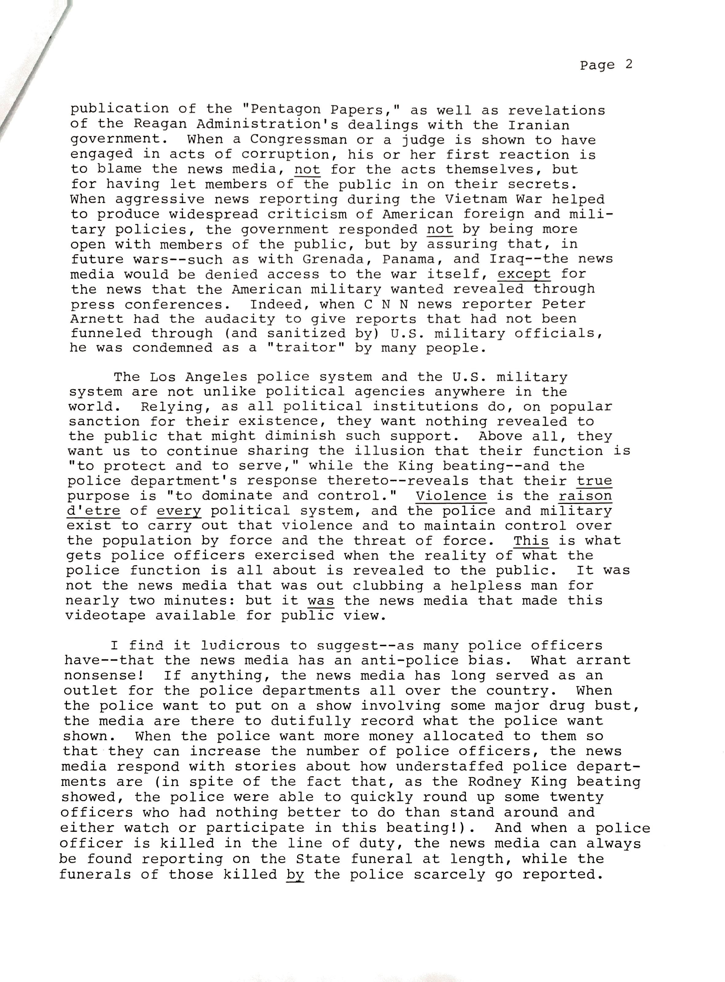 on the banks personal rodney king letter p2