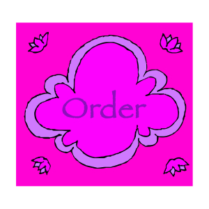 Flower bubble order