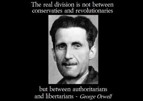 Orwell - libertarians