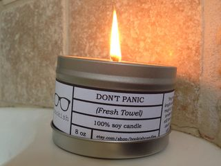 Don't panic candle 1