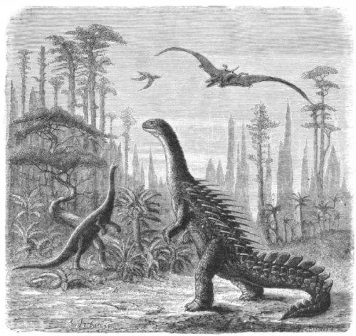 Dinosaurs_Sci_Am_1884